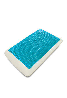 Comfort Revolutions Cool Cerulean Bubbles Hydraluxe Bed Pillow