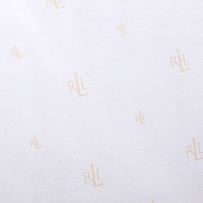 Down Alternative Pillows: New Ivory Lauren Ralph Lauren Home RL LOGO PILL 18 OZ B