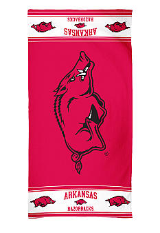 WinCraft Arkansas Razorbacks Beach Towel