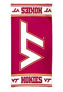 Virginia Tech Hokies Beach Towel