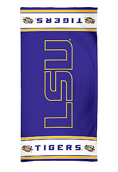 WinCraft LSU Tigers Beach Towel