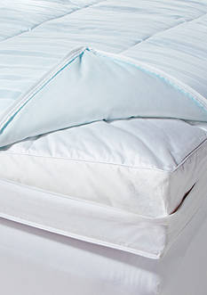 DOWNLITE® 400 Thread Count Cool Touch Waterproof Mattress Protector - Online Only