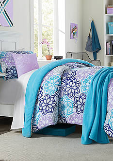 Home Accents® Wendy Comforter Set Including Bonus Hamper
