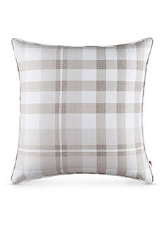 Tommy Hilfiger R PLAID TAUPE 20X20 DEC