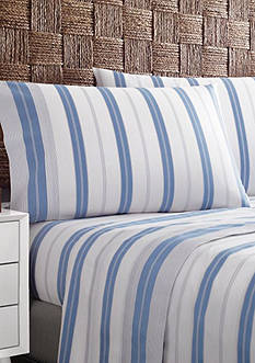 Tommy Hilfiger Lambert's Cove Stripe Twin Sheet Set