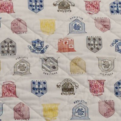 Quilts: Multi Tommy Hilfiger ROYAL ARMS TW QUILT