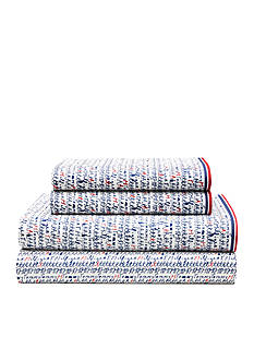 Tommy Hilfiger Tommy Script Queen Sheet Set