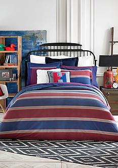 Tommy Hilfiger® Amherst Stripe Comforter Collection