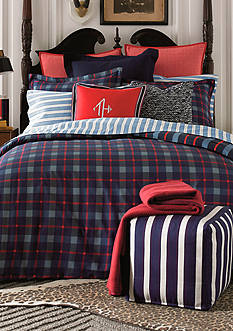 Tommy Hilfiger BOSTON PLAID F/Q CSET
