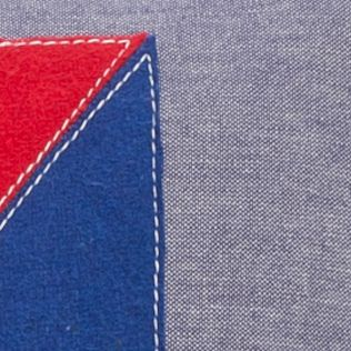 Beach Bedding: Navy Tommy Hilfiger Newport Euro Sham