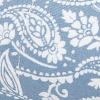 Low Thread Count Sheets: Tonal Paisley Blue Home Accents MF PRINT SHEETS TWIN