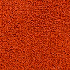 Bath Mats: Paprika Christy Large Bath Rug 25-in.x 42-in.