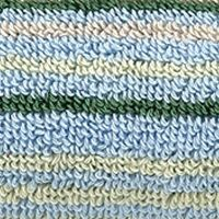 Decorative Bath Towels: Stripe Blue Christy Supreme Stripe Washcloth 13-in.x 13-in.