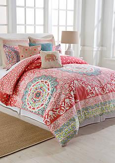 Jessica Simpson Amrita Medallion King Comforter Mini Set 106-in. x 96-in.