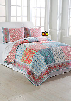 Jessica Simpson INDIAN SUNRISE QUILT FQ