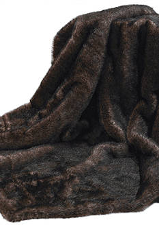 HiEnd Accents AUSTINFAUX FUR THROW