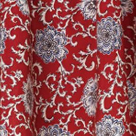 Floral Bedding: Red HiEnd Accents BANDERA BLUE DEC