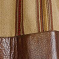 Comforter Sets: Brown HiEnd Accents RUIDOSO SQ RED DEC
