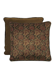 HiEnd Accents AUSTIN EURO SHAM SCROLL MEDALLION DS