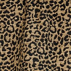 Elegant Bedding: Leopard HiEnd Accents SAN ANGELO PIECED OBLONG WITH FAUX LEATHER