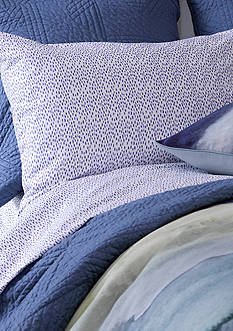 bluebellgray RAIN DOTS SHEET SET FULL PW