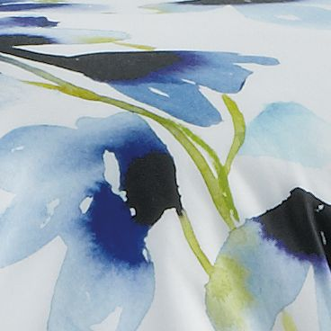 Bed & Bath: Floral Sale: Blue bluebellgray SKYE F/Q DUVET SET