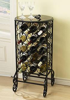 Southern Enterprises Tannin Wine Table