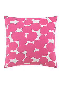 kate spade new york Random Dot Shocking Pink Decorative Pillow