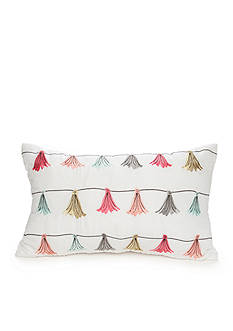 Best in Class Embroidered Tassel Decorative Pillow