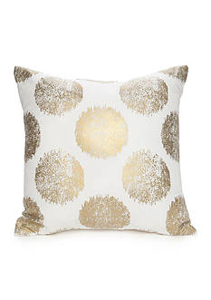 Best in Class Printed Gold Metallic Dot Decorative Pillow