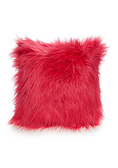 Best in Class Honeysuckle Faux Mohair Decorative Pillow