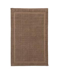 GRUND Grund Organic Cotton Bath Rug, Lao Series, 21-Inch by 34-Inch, Latte