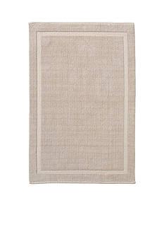 GRUND Grund Organic Cotton Bath Rug, Lao Series, 17-Inch by 24-Inch, Sand