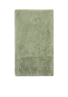 GRUND Grund Organic Cotton Bath Rug, Namo Series, 24-Inch by 40-Inch, Green Tea