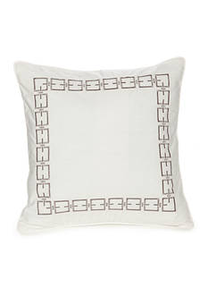 Modern.Southern.Home.™ Reece Embroidered Chain Link Decorative Pillow