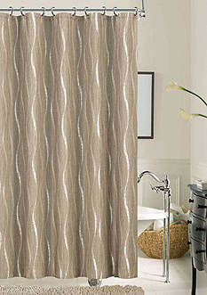 Dainty Home Morocco Shower Curtain