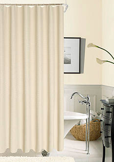 Dainty Home Hotel Collection Waffle Shower Curtain