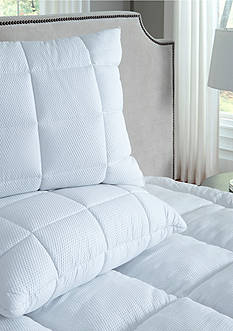 Perfect Fit Seersucker Jumbo Quilted Pillow 2-Pack