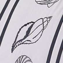 Coastal Bedroom: White Croscill MONTEGO BAY FASH PILLOW 16X16