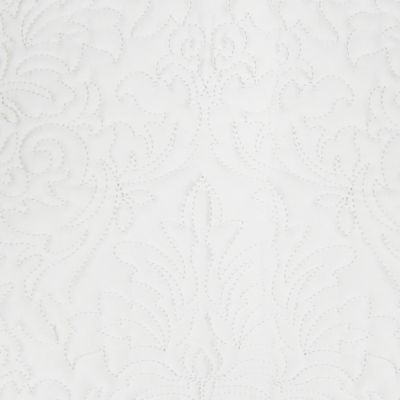 Bedspreads and Coverlets: White Croscill PIERCE KING SHAM 36X20