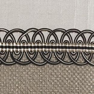Elegant Bedding: Taupe Croscill AUGUSTA BOUDOIR PILLOW 21X12
