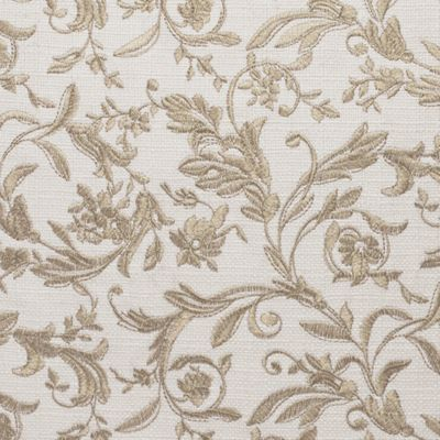 Floral Bedding: Ivory Croscill AVERY POLE TOP DRAPERY 82X84
