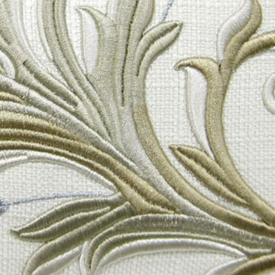 Croscill: Ivory Croscill AVERY POLE TOP DRAPERY 82X84