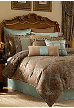 Laviano Queen Comforter Set 92-in. x 96-in.