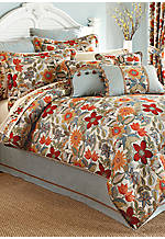 Mardi Gras King Comforter Set 110-in. x 96-in. with Shams 20-in. x 36-in.