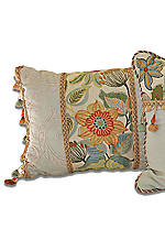 Mardi Gras Boudoir Decorative Pillow 20-in. x 15-in.