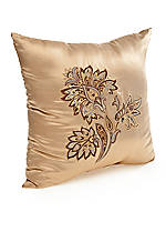 Marcella Gold Embroidered Fashion Pillow 18-in. x 18-in.