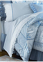 Sophia Full Sheet Set - Flat 96-in. x 81-in., Fitted 75-in. x 54-in., Pillowcases 20-in. x 30-in.