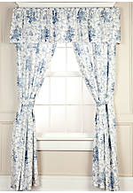 Sophia Drapery Panels 84-in. x 41-in. with Tiebacks