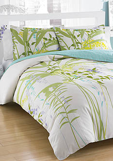 CITY SCENE MIX FLRL TWN DUVET S